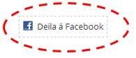 Facebook-deila