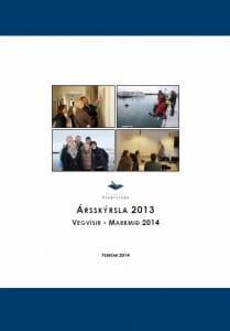 Ársskýrsla-kovermynd 2013-2014