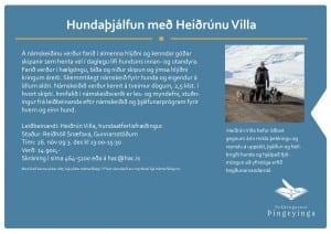 Heiðrún Villa á Þórshöfn